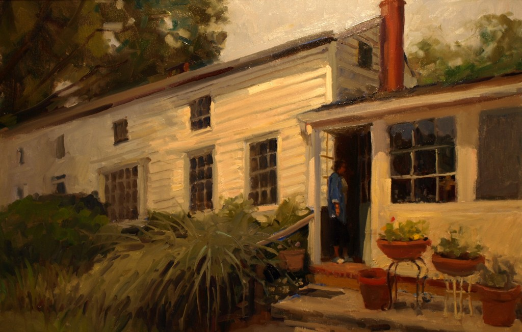 Doorway, Oil on Canvas, 24 x 36 Inches, by Susan Grisell, $1500