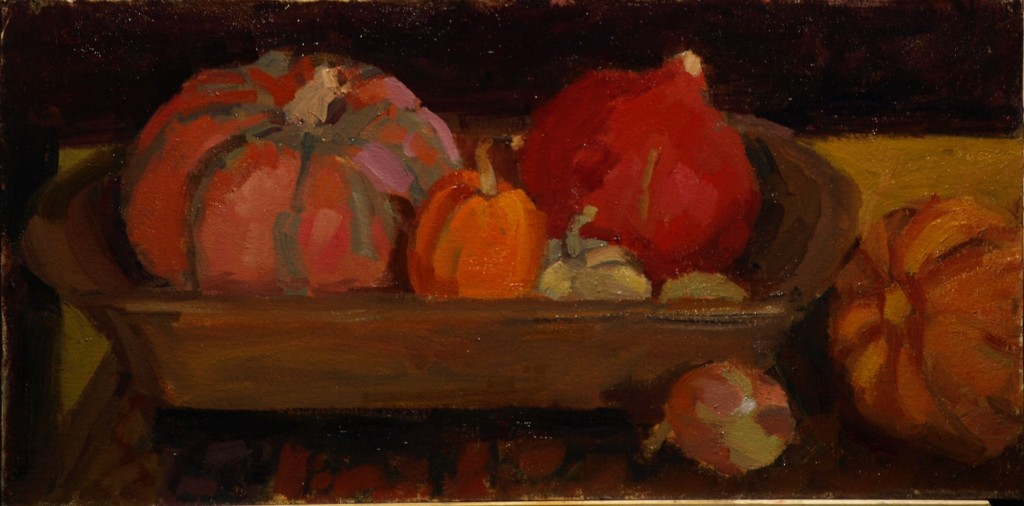 Kitchen Still Life, Oil on Canvas on Panel, 12 x 24 Inches, by Susan Grisell, $450