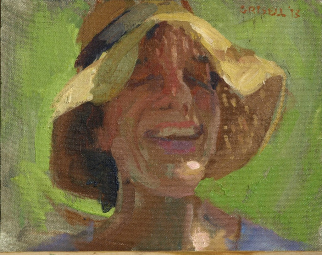 Anne, Oil on Canvas on Panel, 8 x 10 Inches, by Susan Grisell, $150