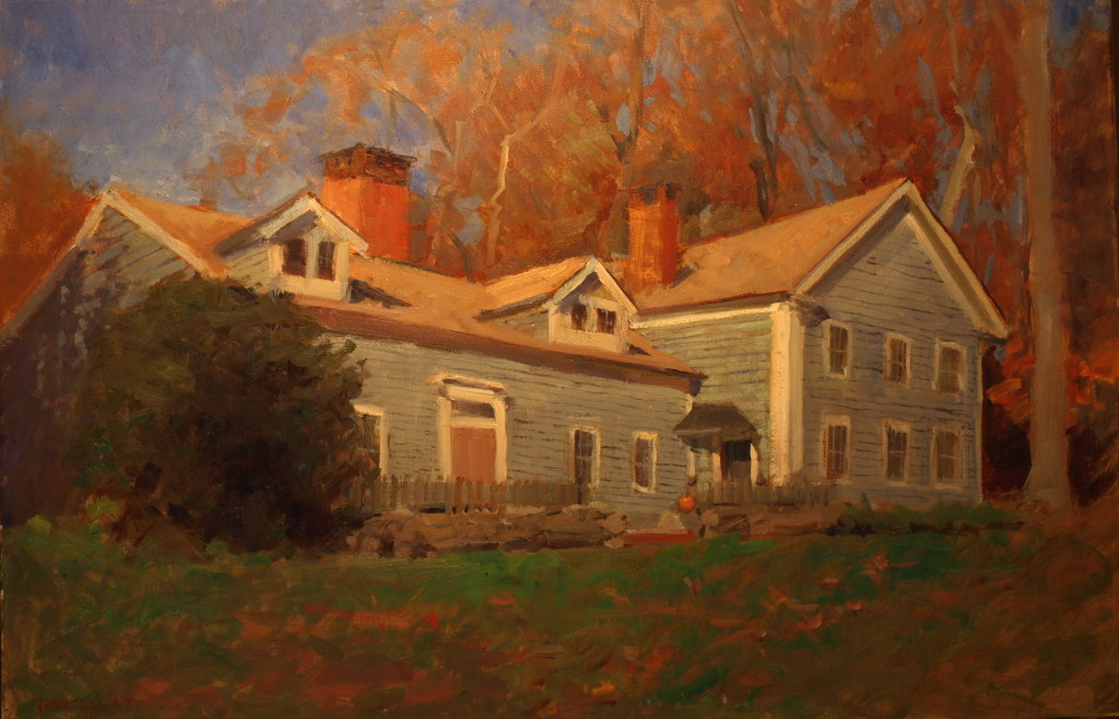 Deborah's House, Oil on Canvas, 24 x 36 Inches, by Susan Grisell, $1500
