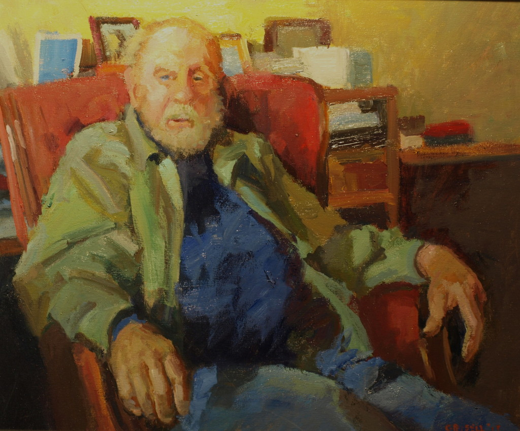 The Sailor, Oil on Panel, 20 x 24 Inches, by Susan Grisell, $550