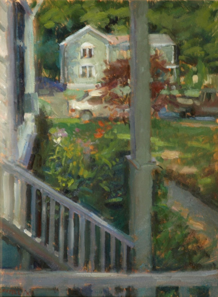 From Sheila's Porch, Oil on Canvas, 24 x 18 Inches, by Susan Grisell, $650