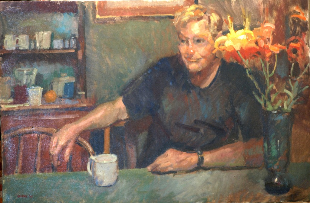 Bill, Oil on Canvas, 24 x 36 Inches, by Susan Grisell, $1200